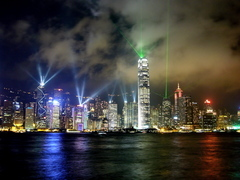 HongKong,the Fantastic Skyline